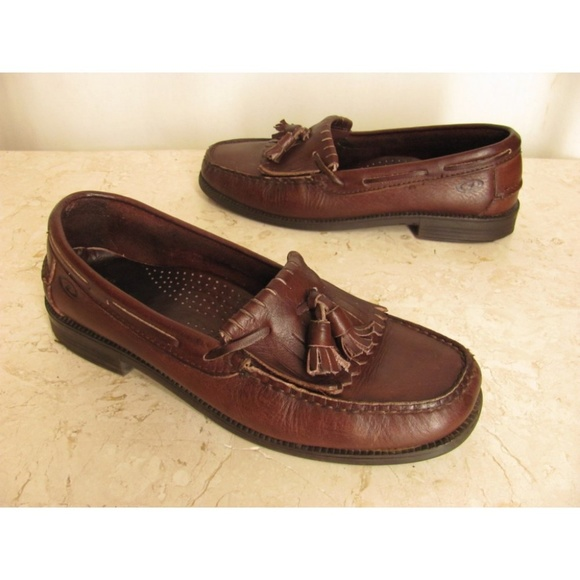 c46df71d610c22 Dexter Shoes - Dexter Shoes Loafers 10 Womens Brown Kiltie Tassel